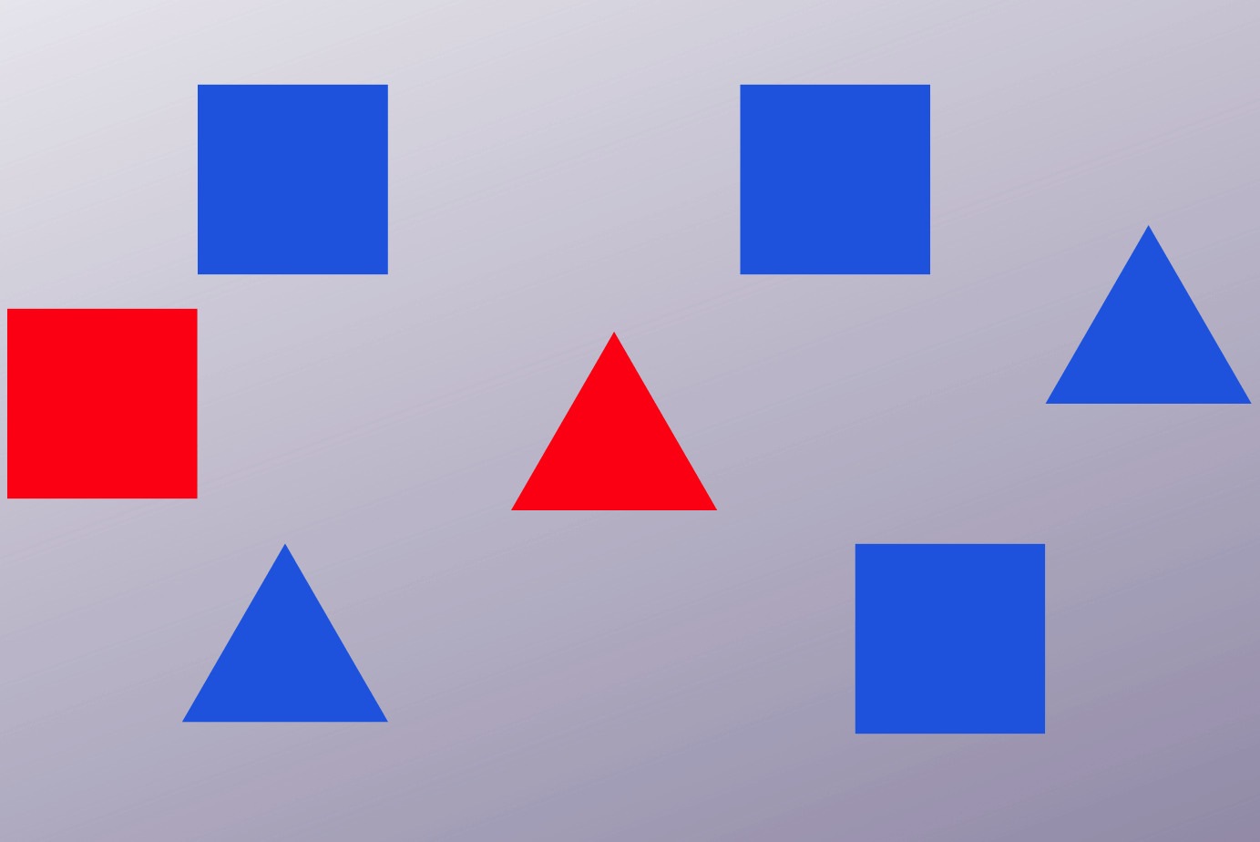 Stylised illustration of the visual search task